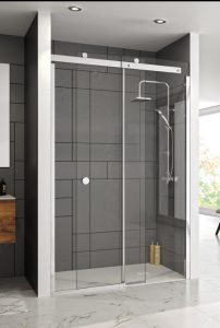 Merlyn Showering NEW 10 Series Sliding Shower Door in a Recess