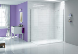 Walk In Shower Cube - Ionic_cube_with_EndPanel_purple_LR
