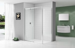 MERLYN Ionic Express Low Level Access Sliding Door_Open