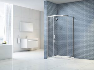 MERLYN IQ 1 Door Quadrant Shower Enclosure